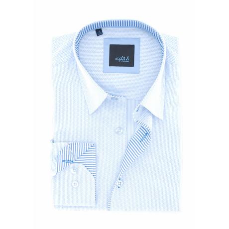 Arden Jacquard Shirt // Blue (S)