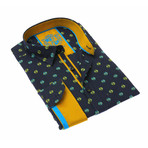 Roberto Fill Coupe Shirt // Turquoise (M)