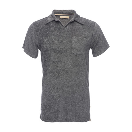 Nicholas Terry Polo Shirt // Gray (XS)