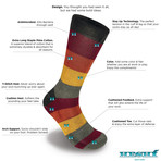 Rugby 5 Socks // Set of 3 (M)