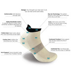 Ankle Sock // Set of 4 (M)