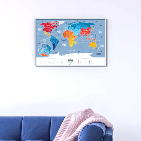 Travel Map // Weekend World