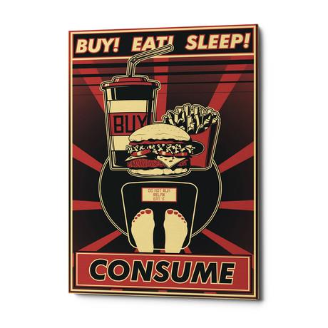 """Consume (18""""W x 26""""H x 0.75""""D)"""