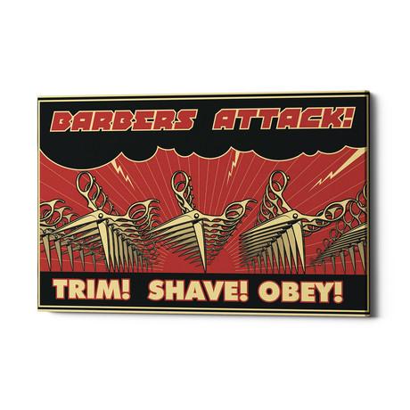 """Barbershop (18""""W x 26""""H x 0.75""""D)"""