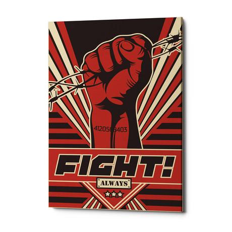 """Fight (18""""W x 26""""H x 0.75""""D)"""