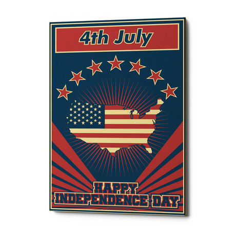 "Independence Day USA (18""W x 26""H x 0.75""D)"