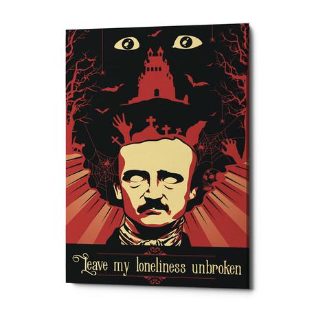 """Poe (18""""W x 26""""H x 0.75""""D)"""