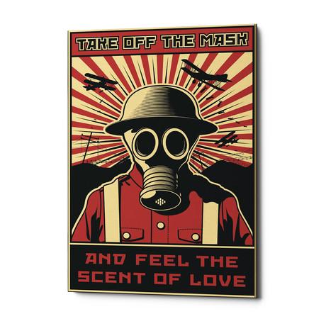 """Gas Mask (18""""W x 26""""H x 0.75""""D)"""