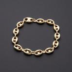 9.5mm Puff Anchor Chain Bracelet