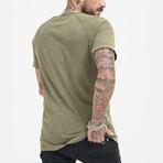 Halvar T-Shirt // Olive (S)