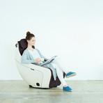 Premium SL Track Heated Massage Chair // Burnt Coffee