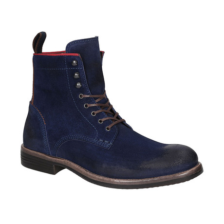 Austin Boots // Navy + Brown (Euro: 40)