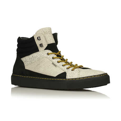Weldon Sneakers // Black + Cream (Euro: 40)