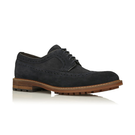 Gonzalo Dress shoes // Navy (Euro: 40)