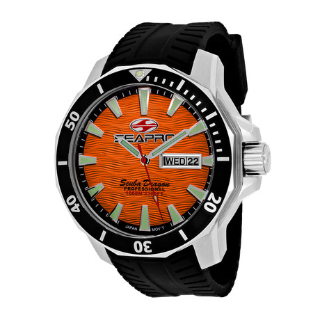 Seapro Scuba Dragon Diver Quartz // Limited Edition // SP8314