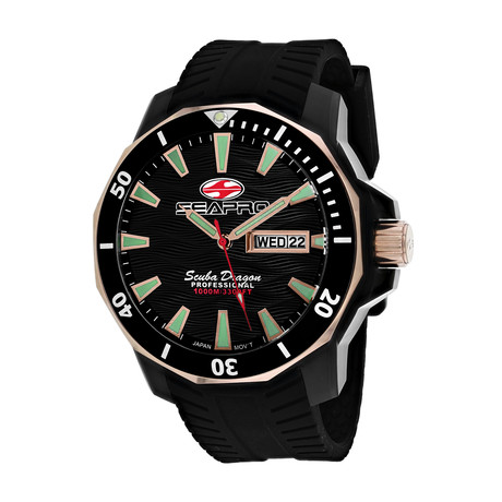 Seapro Scuba Dragon Diver 1000M Quartz // SP8320