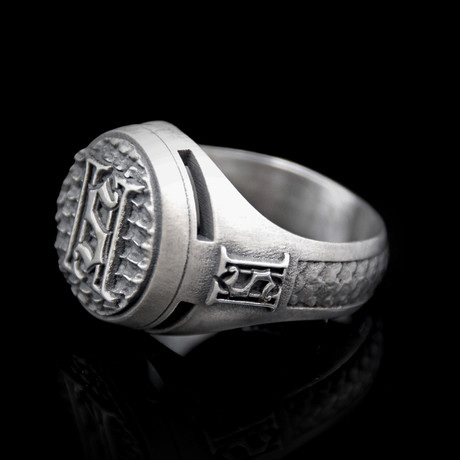 Ring // 2 Saints // White (12)