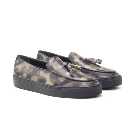 Belgian Sneaker Camo // Camo Gray (US: 6)