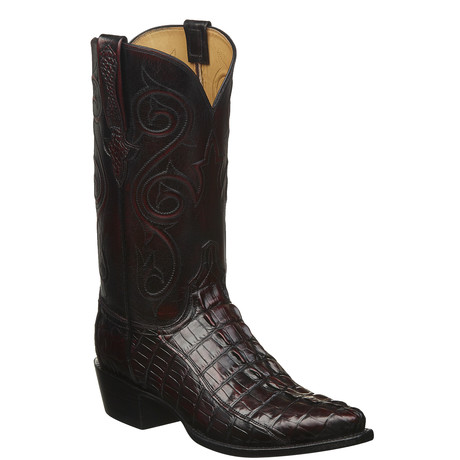 Bc Hbt/Bc Buff Cowboy Boots // Black Cherry (US: 11)