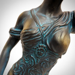 Lady Justice // Folk Art Statue