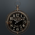 York Town Clocks Est 1863 // Wall Art Clock