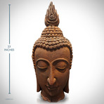 Buddha The Ushnisha Large Head // Fine Art Statue