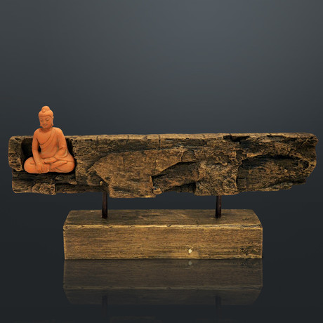 Buddha Calling The Earth To Witness // Fine Art Statue And Display