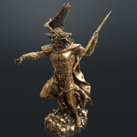 Greek God Of Thunder Zeus // Cast Bronze Statue
