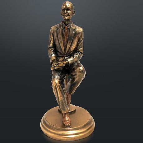 President Barack Obama // Fine Art Statue