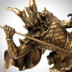 Odin Norse God Riding Sleipnir // Cast Bronze Statue