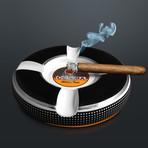 Cohiba Habana Cuba Cigars // Vintage Bone Porcelain Ashtray
