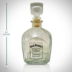 Jack Daniel'S Classic Logo // Spirit Glass Decanter
