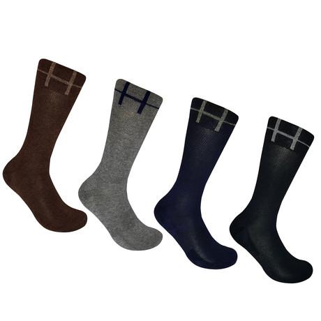 Basic Crew Socks // Set of 4 (M)