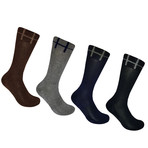 Basic Crew Socks // Set of 4 (L)