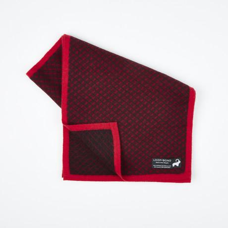 Cross Track // Ebony + Claret Red + Cardinal Red