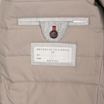 Martin Gray Puffer Jacket // Gray (2XL)