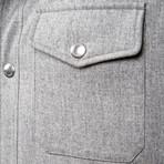 Martin Gray Puffer Jacket // Gray (XS)