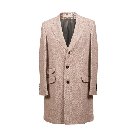 Buuren Cashmere Over Coat // Light Brown (Euro: 48)