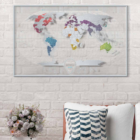 Travel Map Air World