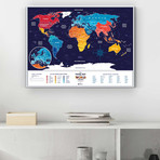 World Travel Map // Holiday World