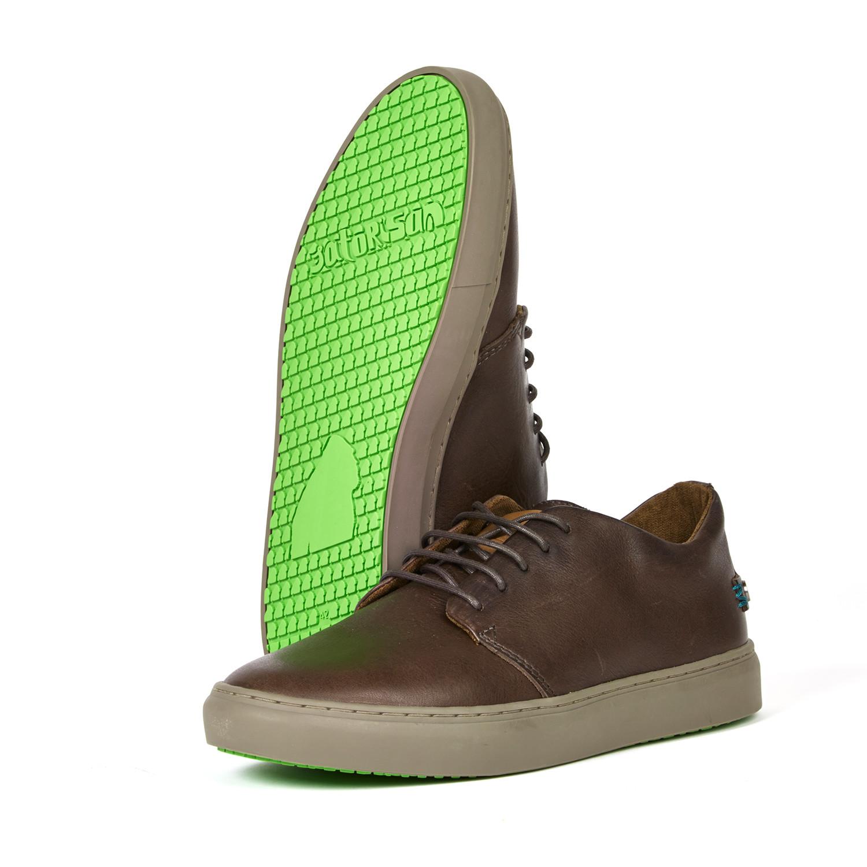 Euro Shoe 40 Dark Brown Dalston XzpHfnz