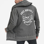 Skulls Of Roll And Roll Sweatshirt // Anthracite (M)