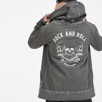 Skulls Of Roll And Roll Sweatshirt // Anthracite (S)