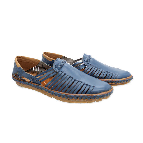 Neo Leather Sandals // Blue (UK: 7)