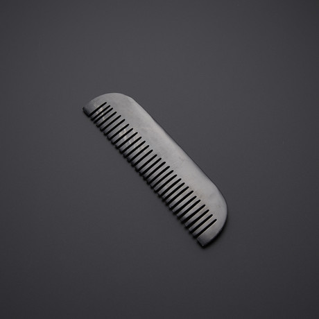 Real Buffalo Horn Beard Comb // SH-13
