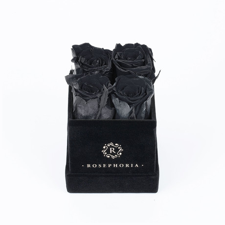4 Rose Box  // Black