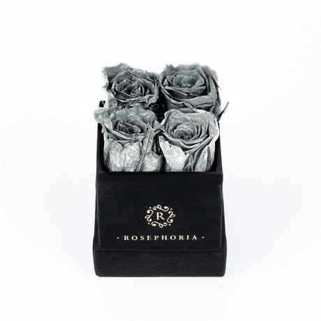 4 Rose Box // Silver