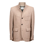 Garrix Short Cashmere Jacket // Light Brown (XL)