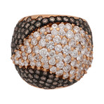 Stefan Hafner Ibis 18k Rose Gold Diamond Ring // Ring Size: 7