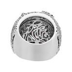 Stefan Hafner Promise 18k White Gold Diamond + Ruby Ring I // Ring Size: 7